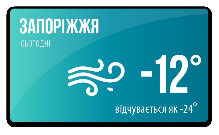 weather in Zhaporizhzhia